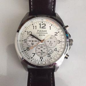 Pulsar Chronograph 100M Watch
